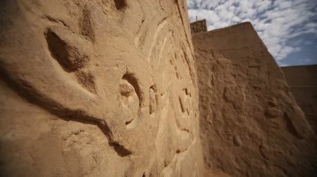 arco : Video footage of the ruins of the Huaca Arco Iris in Peru, near by Trujillo. Stock Footage