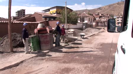 neediness : video footage of streets in Cusco, Peru. October 2007 Stock Footage