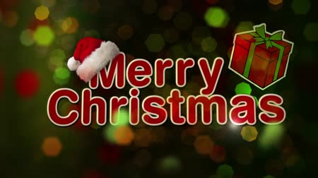 atmosféra : Christmas New Year Sparkle features a Merry Christmas Happy New year message with animated text on green and red animated background with energetic camera moves. Dostupné videozáznamy