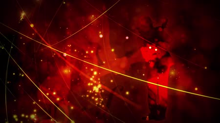 mikrofon : Hot Guitar Dual in Red 4K features a red themed abstract animated background with two guitar playing animated silhouettes