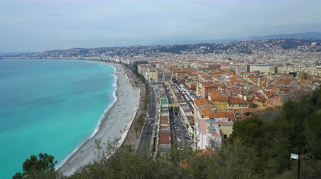 francja : Nice, Bay of angels (Baie-des-Anges), Provence, Côte dazur, France