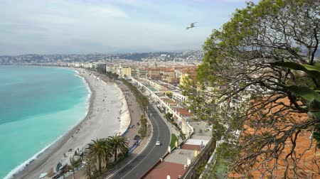 cote : Nice, Bay of angels (Baie-des-Anges), Provence, Côte dazur, France