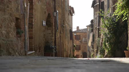 toskánsko : Scenic Italian Village Street Somewhere in the Tuscany Region of the Italy. Dostupné videozáznamy
