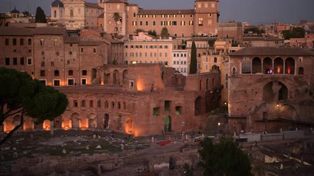 caesar : City of Rome and Roman Forum and Market. Capitol of the Lazio Region.