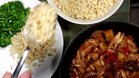 Chicken Casserole Or Stew With Rice