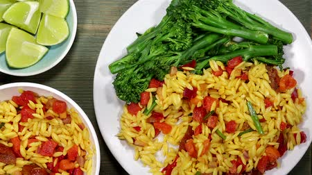 Italian Orzo Pasta Salad With Vegetables