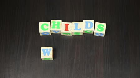hamis : Childs World, The animation of the cubes