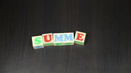 hamis : Summer, The animation of the cubes