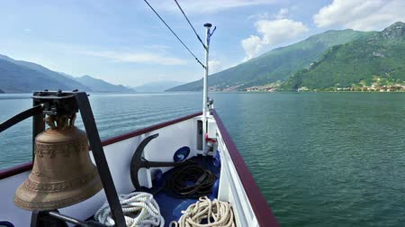 kotva : Lake Como (Italy) summer  view from ship board