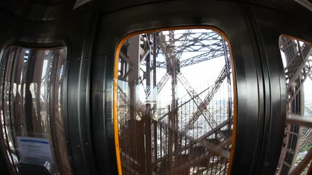 лифт : Inside the Elevator of Eiffel Tower