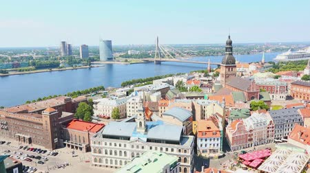 stare miasto : Panoramic View of Riga