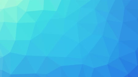 növelni : Blue turquoise gradient polygon shaped background zoomed in and zoomed out in one motion