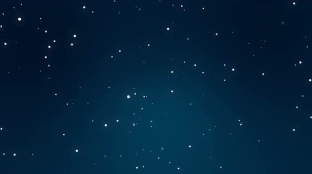 snow sparkle : Animated dark blue night sky background with sparkling stars.