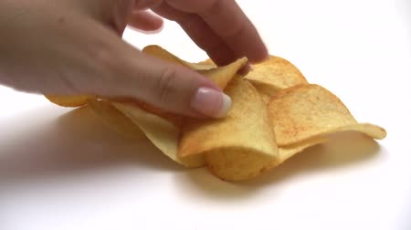 calorias : Eating Potato Chips - Time Lapse