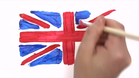 zvedák : Painting Union Jack - Time Lapse