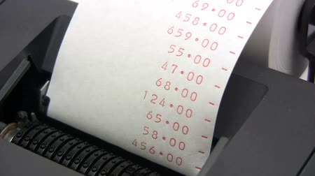 banknoty : Expenses - Time Lapse Wideo