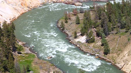 nemzeti : Yellowstone National Park River Rapids