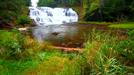 upper peninsula : Agate Falls Northern Michigan