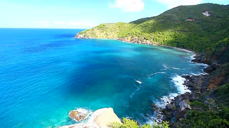 ostrovy : Shark Bay National Park in the British Virgin Islands
