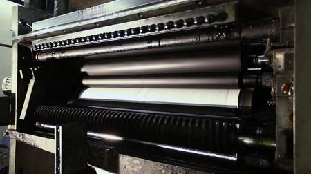 printings : printing establishment detail on production line