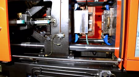 moldagem : plastic press molding machine details ready throw out