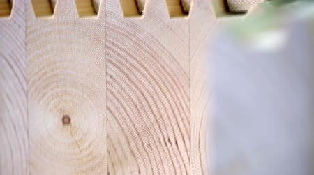 пиломатериалы : View on surface of laminated veneer lumber