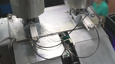 changer : Working machinery at dairy plant