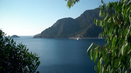 suntan : Beautiful Turkish sea and mountain landscape near Marmaris