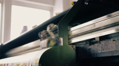 Industrial machinery at workshop video