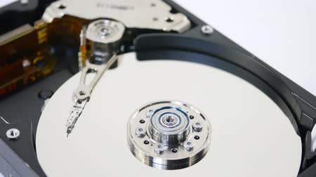 symbolic record of data on hard disc Vídeos