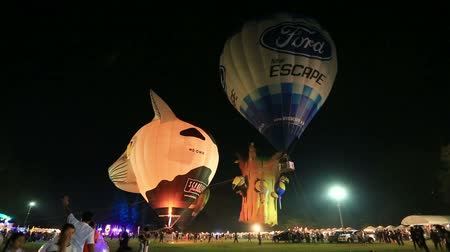 CHIANGMAI,THAILAND, MARCH 4 2016: Thailand international balloon festival on 4 March 2016 in Chiangmai ,Thailand.