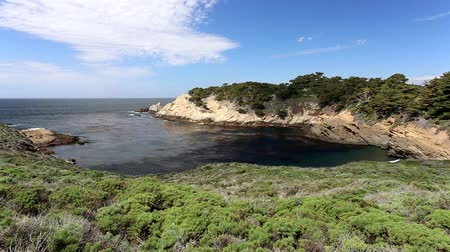 pontos : Lagoon at Point Lobos Park Along California Central Coast near Monterey.