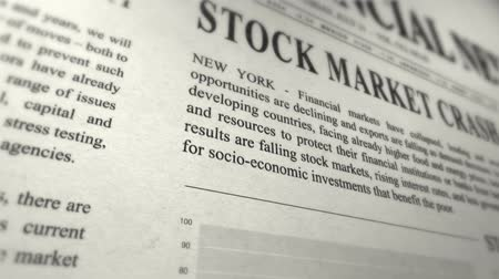lucros : Bankruptcy business concept  Stock Footage