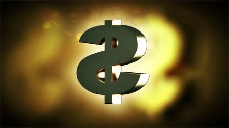 dolar : Rotating dollar sign