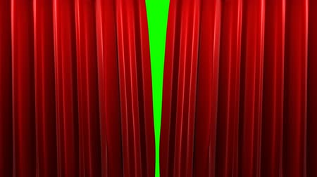 perdeler : Red velvet theater curtains