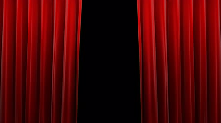 stage theater : Red velvet theater curtain