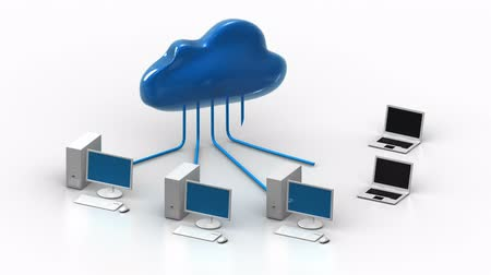 corporate : Cloud computing - data flow