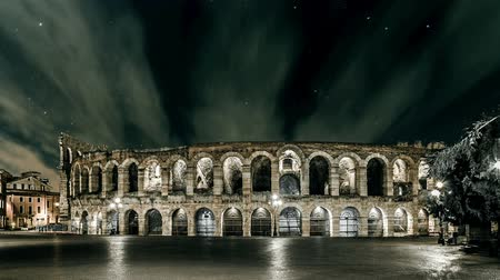 арена : Arena with Clouds in the Night