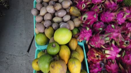 odrůda : Variety of exotic tropical fruit can be found at Kundasang, Sabah, Malaysia