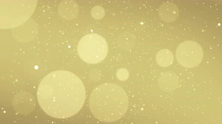 eleganckie : Particles gold glitter bokeh award dust abstract background loop