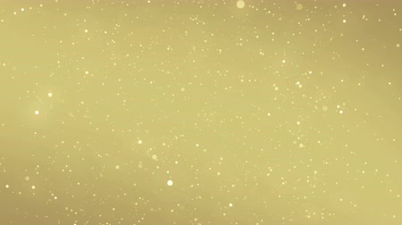 prach : Particles gold glitter bokeh award dust abstract background loop
