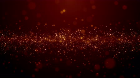 inspiradora : Particles dust bokeh abstract light motion titles cinematic background loop Stock Footage