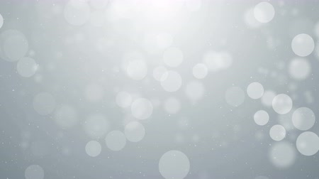 боке : Particles white business clean bright glitter bokeh dust abstract background loop