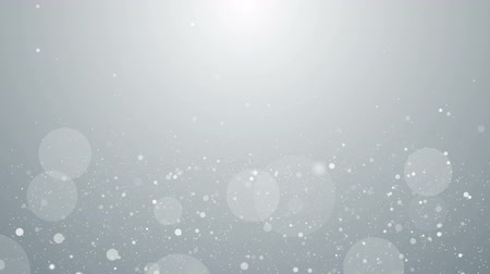 inspiradora : Particles white business clean bright glitter bokeh dust abstract background loop