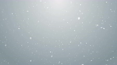 snow sparkle : Particles white business clean bright glitter bokeh dust abstract background loop