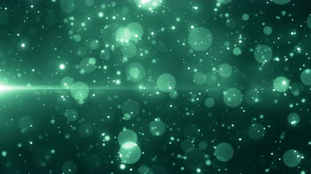 Particles dust bokeh abstract light motion titles cinematic background loop Stok Video