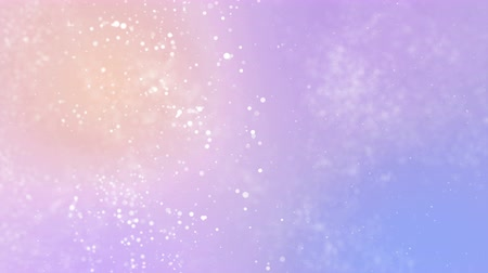 glamourous : Particles pastel color business clean bright glitter bokeh dust abstract background loop