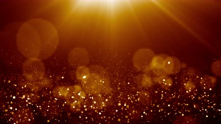 remise de prix : Particules dust bokeh abstract light motion titres cinematic background loop