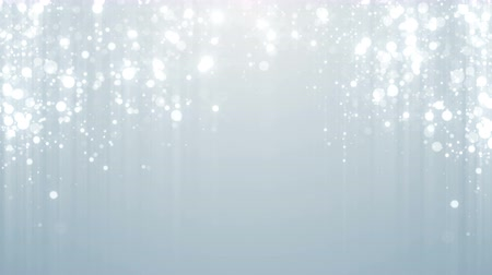glamourous : Particles white business clean bright glitter bokeh dust abstract background loop