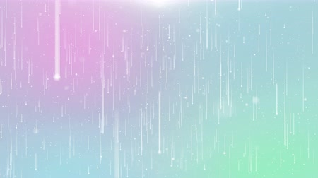 minimalista : Particles pastel color business clean bright glitter bokeh dust abstract background loop
